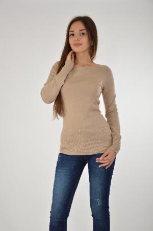 Пуловер Melrose. Цвет: серый