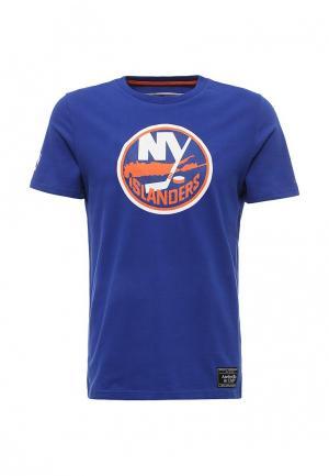 Футболка Atributika & Club™ NHL New York Islanders. Цвет: синий