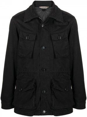 Куртка с карманами Vancouver Aspesi. Цвет: черный