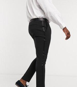 Черные брюки скинни под смокинг Plus-Черный ASOS DESIGN