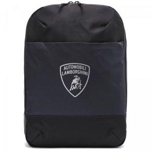 Рюкзак Automobili Lamborghini. Цвет: чёрный