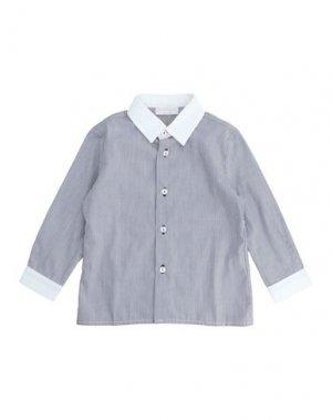 Pубашка BIMBALÒ. Цвет: темно-синий