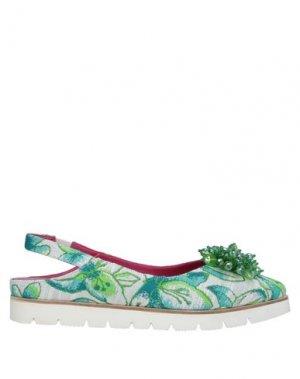 Туфли 181. Цвет: зеленый