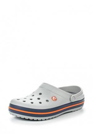 Сабо Crocs. Цвет: серый