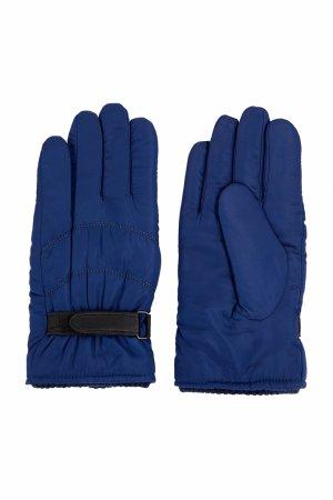Перчатки мужские Finn-Flare. Цвет: темно-синий