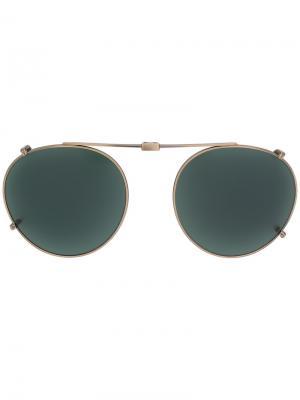 Солнцезащитные очки Garrett Leight. Цвет: золотистый