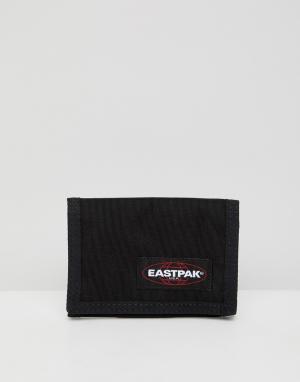 Черный бумажник Eastpak. Цвет: черный