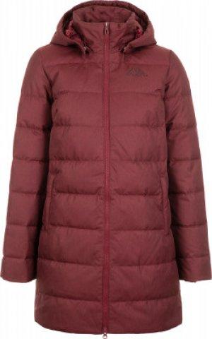 Куртка пуховая женская , размер 48 Kappa. Цвет: красный