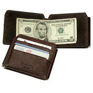Др.Коффер X510238-02-09 зажим для денег Dr.Koffer