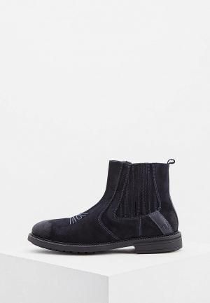 Ботинки Trussardi Jeans. Цвет: синий