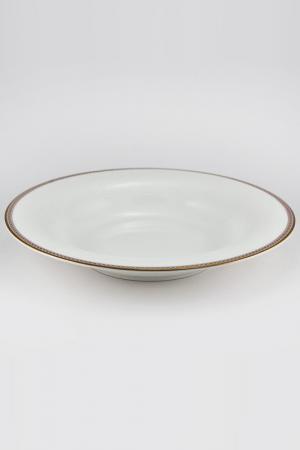 Набор тарелок 24 см, 6 шт. Royal Porcelain Co. Цвет: белый, золотой