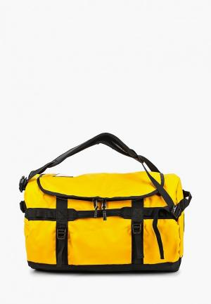 Сумка спортивная The North Face BASE CAMP DUFFEL - S. Цвет: желтый