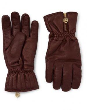 Перчатки HESTRA. Цвет: какао