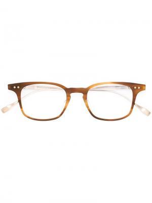 Оправа для очков Buckeye Dita Eyewear. Цвет: металлический