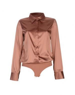 Pубашка LINGADORE. Цвет: ржаво-коричневый