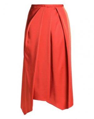 Укороченные брюки CHALAYAN. Цвет: ржаво-коричневый