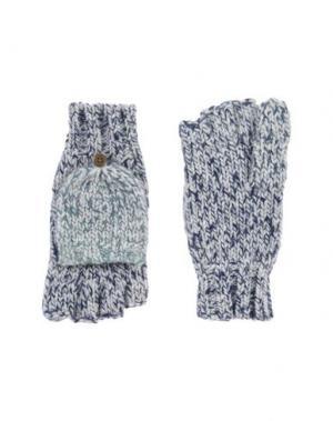 Перчатки UGG AUSTRALIA. Цвет: темно-синий
