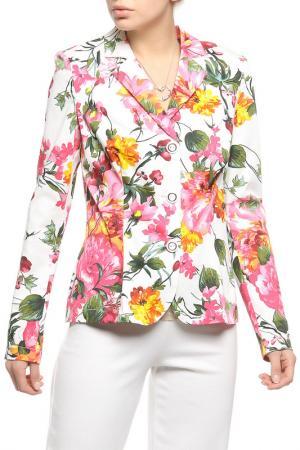 Пиджак Lissa. Цвет: мультицвет