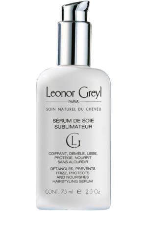 Шелковая сыворотка для укладки Serum de Soie Sublimateur Leonor Greyl. Цвет: бесцветный
