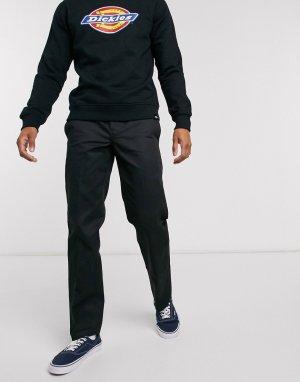 Черные узкие брюки прямого кроя 873-Черный цвет Dickies