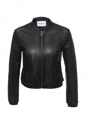 Куртка кожаная Max&Co Max&Co MA111EWOML41. Цвет: черный