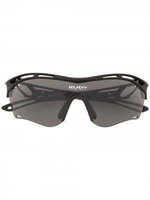Солнцезащитные очки Tralyx Slim Rudy Project. Цвет: черный