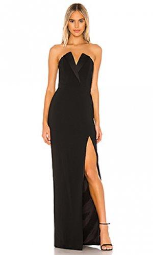 Вечернее платье sylvia Jay Godfrey. Цвет: черный