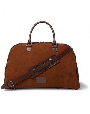 Дорожная сумка ANDERSON'S. Цвет: коричневый