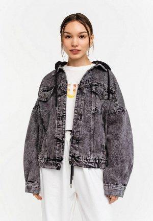 Куртка джинсовая Befree Exclusive online. Цвет: серый