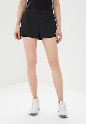 Шорты спортивные Nike NikeCourt Flex Womens Tennis Shorts. Цвет: черный