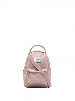 Сумка на плечо с нашивкой-логотипом Herschel Supply Co.. Цвет: розовый