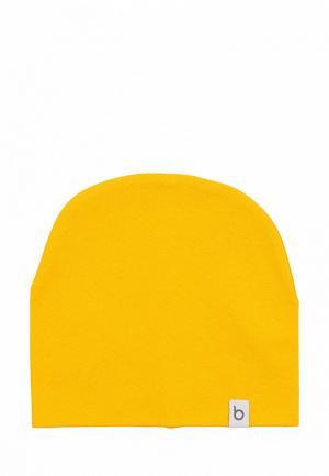 Шапка bodo. Цвет: желтый