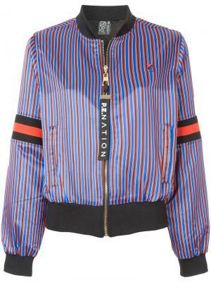 Куртка-бомбер Relentless P.E Nation. Цвет: многоцветный