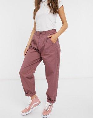Розовые брюки чинос -Розовый Vero Moda