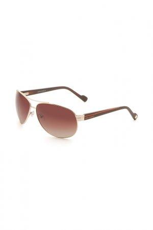 Очки солнцезащитные Enni Marco. Цвет: светло-коричневый