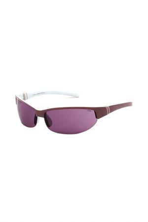 Очки солнцезащитные FILA. Цвет: фиолетовый