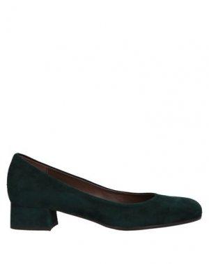 Туфли CALPIERRE. Цвет: темно-зеленый