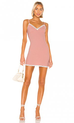 Мини платье shannon Privacy Please. Цвет: розовый