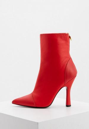 Ботильоны Escada Sport Rita Ora. Цвет: красный