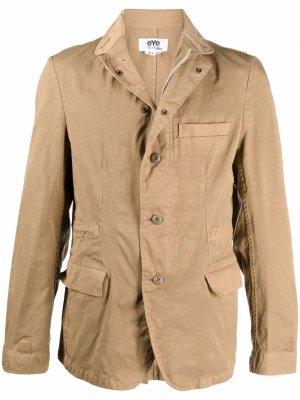 Однобортный пиджак Junya Watanabe MAN. Цвет: нейтральные цвета