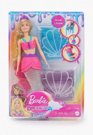 Кукла Barbie Русалочка со слаймом, 30 см. Цвет: разноцветный
