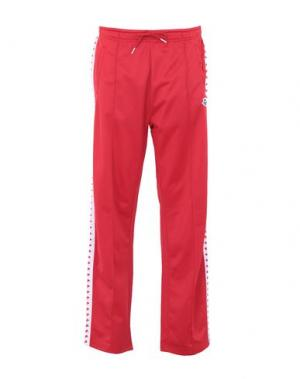 Повседневные брюки ARENA. Цвет: красный