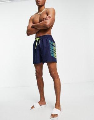 Темно-синие волейбольные шорты длиной 5 дюймов Swimming Rift-Темно-синий Nike