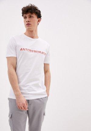 Футболка Antony Morato. Цвет: белый