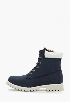 Ботинки Patrol. Цвет: синий