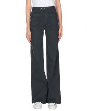 Джинсовые брюки-капри CYCLE. Цвет: темно-зеленый