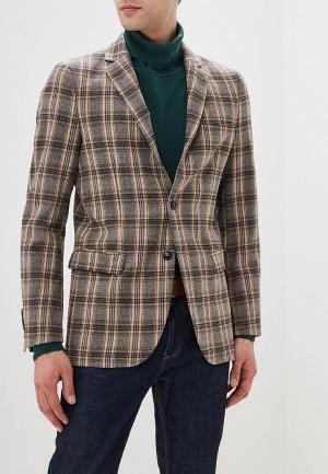 Пиджак United Colors of Benetton. Цвет: коричневый