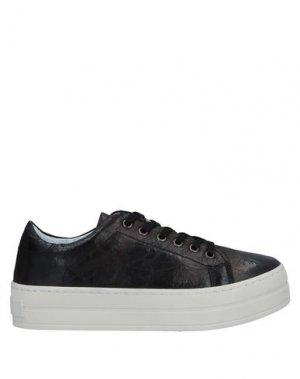 Кеды и кроссовки FORNARINA. Цвет: черный