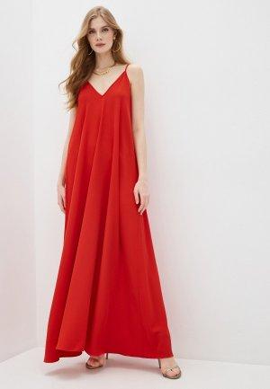 Платье Alessandro DellAcqua Dell'Acqua. Цвет: красный
