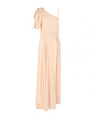 Длинное платье BABYLON. Цвет: светло-розовый